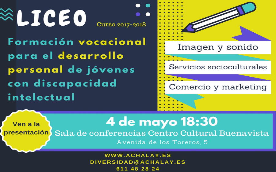 Proyecto Liceo Achalay Diversidad - Comprometidos con la Discapacidad