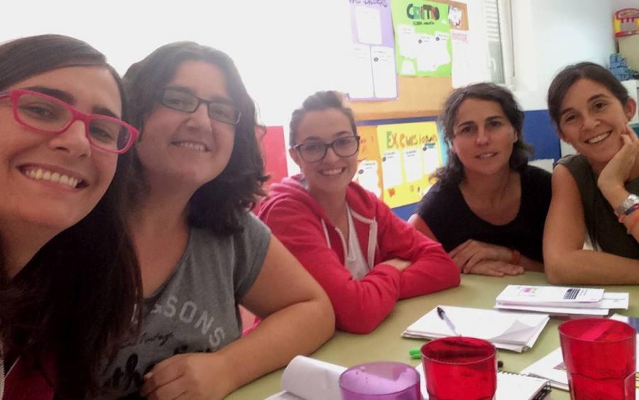 Planificando el curso en Achalay Madrid
