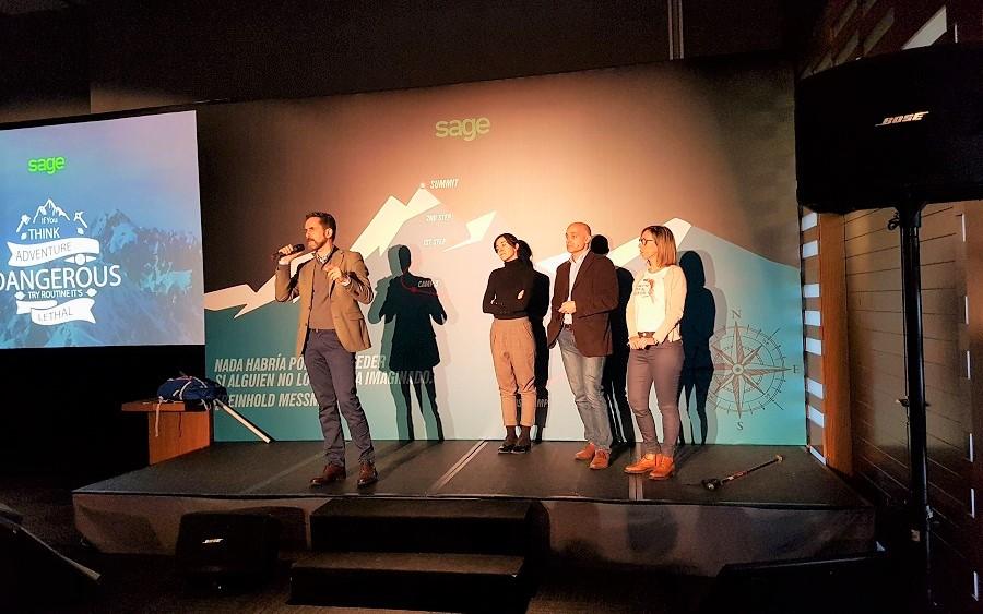 Empresas comprometidas Achalay en el Kick off Enterprise de Sage
