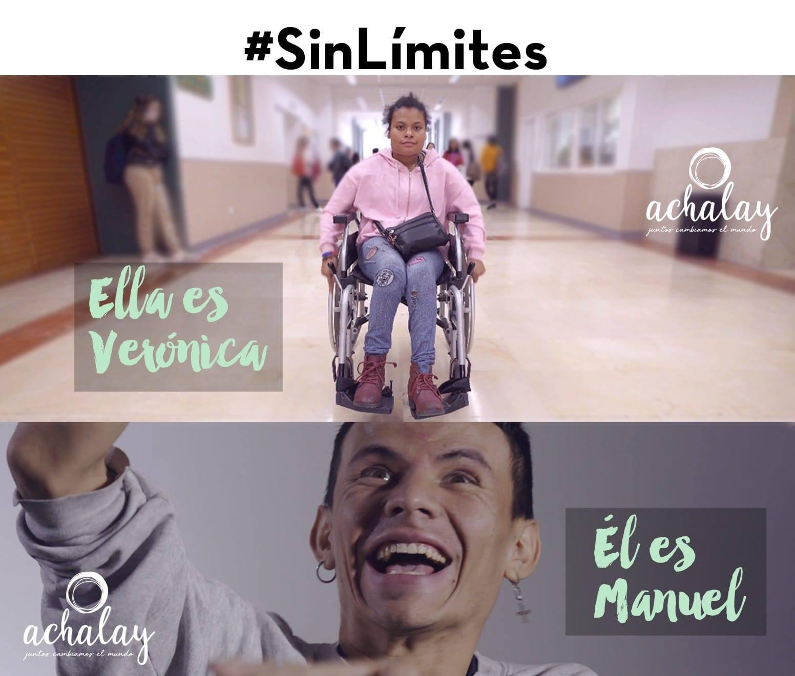Vero y Manu son dos jóvenes con dispacidad intelectual que participan en el Proyecto LICEO de Achalay Diversidad