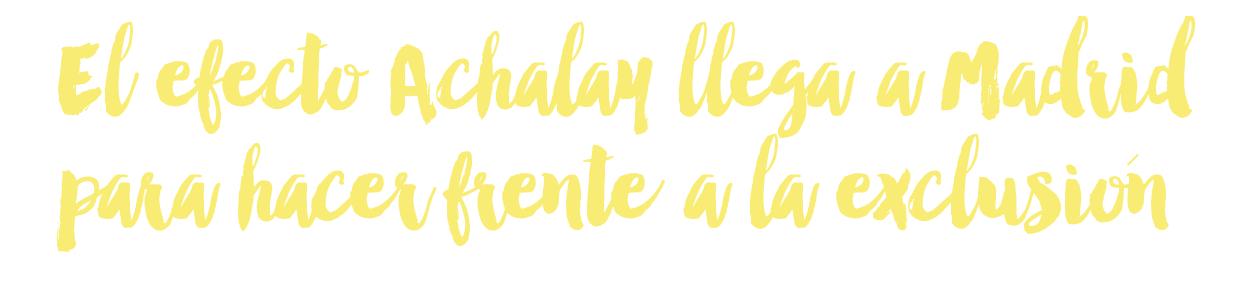 Cooperación Achalay 15 aniversario